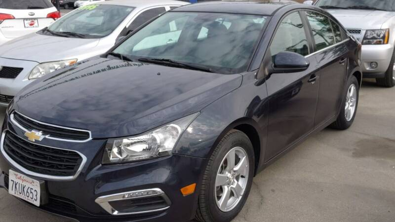 2015 Chevrolet Cruze for sale at Approved Autos in Bakersfield CA