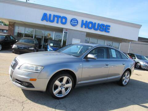 2008 Audi A6 for sale at Auto House Motors in Downers Grove IL