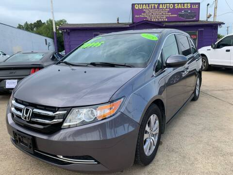 2015 Honda Odyssey for sale at Quality Auto Sales LLC in Garland TX