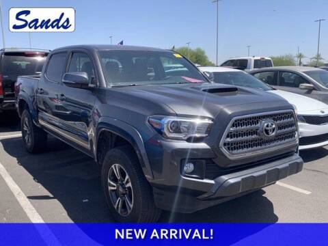 2017 Toyota Tacoma for sale at Sands Chevrolet in Surprise AZ
