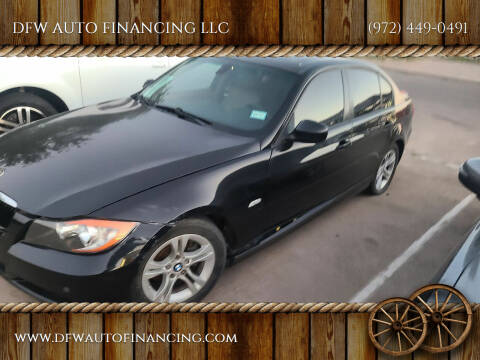 2008 BMW 3 Series for sale at DFW AUTO FINANCING LLC in Dallas TX