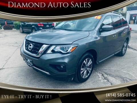 2018 Nissan Pathfinder for sale at Diamond Auto Sales in Milwaukee WI