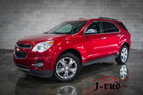 2015 Chevrolet Equinox for sale at J-Rus Inc. in Macomb MI
