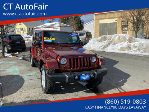 2007 Jeep Wrangler Unlimited for sale at CT AutoFair in West Hartford CT