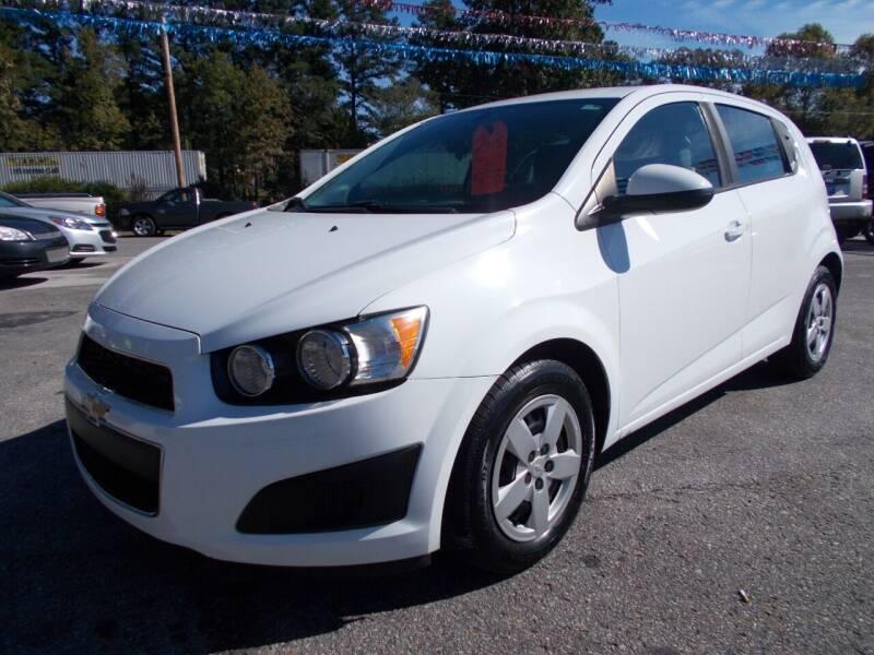 2015 Chevrolet Sonic for sale at Culpepper Auto Sales in Cullman AL