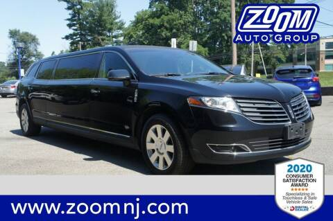 2017 Lincoln MKT Town Car for sale at Zoom Auto Group in Parsippany NJ