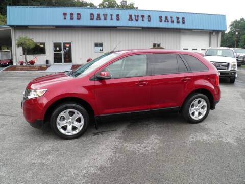 2013 Ford Edge for sale at Ted Davis Auto Sales in Riverton WV