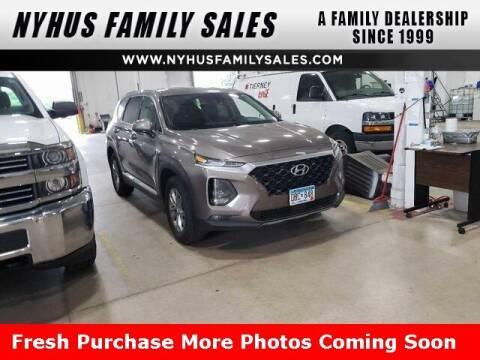 2019 Hyundai Santa Fe for sale at Nyhus Family Sales in Perham MN