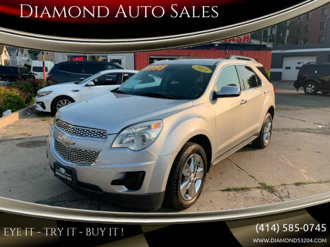 2015 Chevrolet Equinox for sale at Diamond Auto Sales in Milwaukee WI