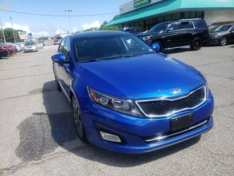 2015 Kia Optima for sale at Auto 757 in Norfolk VA