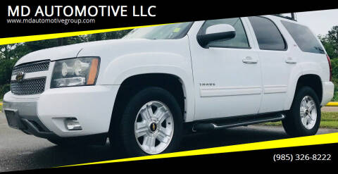 2010 Chevrolet Tahoe for sale at MD AUTOMOTIVE LLC in Slidell LA