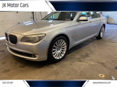 2012 BMW 7 Series for sale at JK Motor Cars in Pittsburgh PA