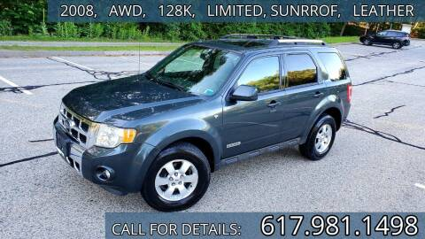 2008 Ford Escape for sale at Wheeler Dealer Inc. in Acton MA