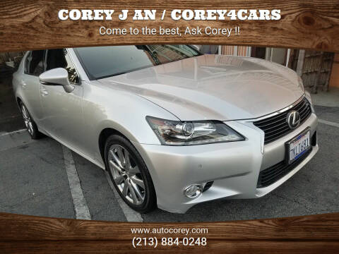 2015 Lexus GS 350 for sale at WWW.COREY4CARS.COM / COREY J AN in Los Angeles CA