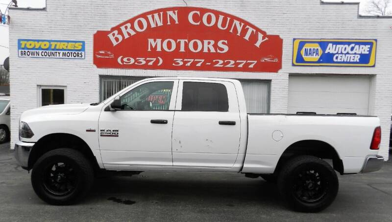2016 RAM Ram Pickup 2500 for sale at Brown County Motors in Russellville OH