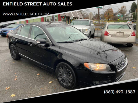 2007 Volvo S80 for sale at ENFIELD STREET AUTO SALES in Enfield CT