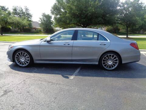 2015 Mercedes-Benz S-Class for sale at BALKCUM AUTO INC in Wilmington NC