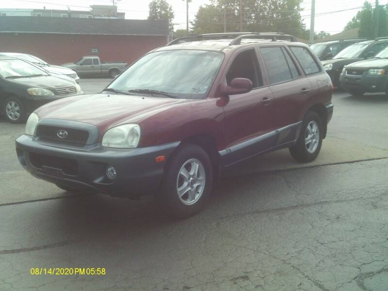 2002 Hyundai Santa Fe for sale at Flag Motors in Columbus OH