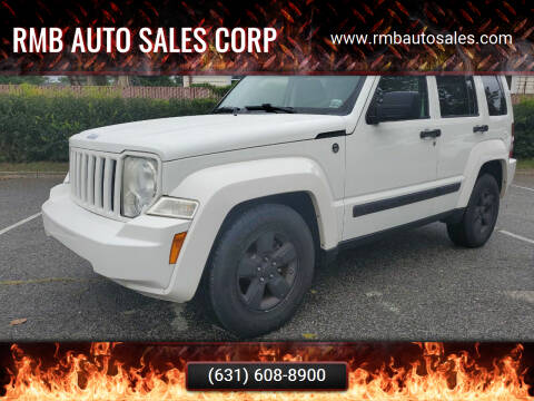 2008 Jeep Liberty for sale at RMB Auto Sales Corp in Copiague NY