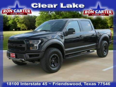 2018 Ford F-150 for sale at Ron Carter  Clear Lake Used Cars in Houston TX