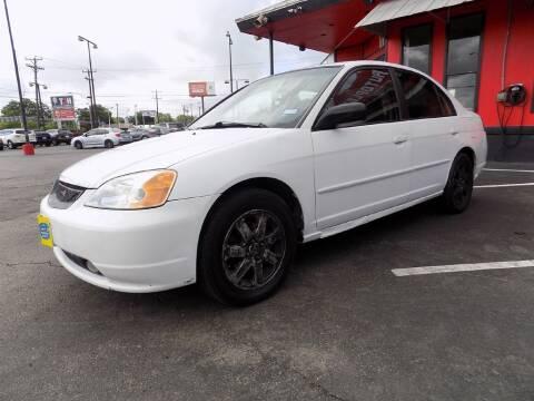 2001 Honda Civic for sale at Kelley Autoplex in San Antonio TX