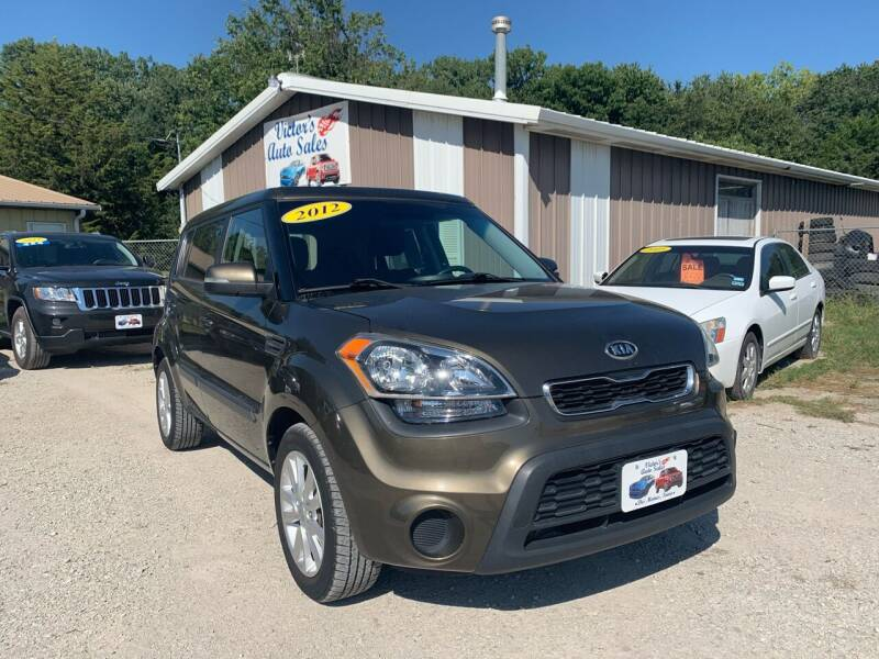 2012 Kia Soul for sale at Victor's Auto Sales Inc. in Indianola IA