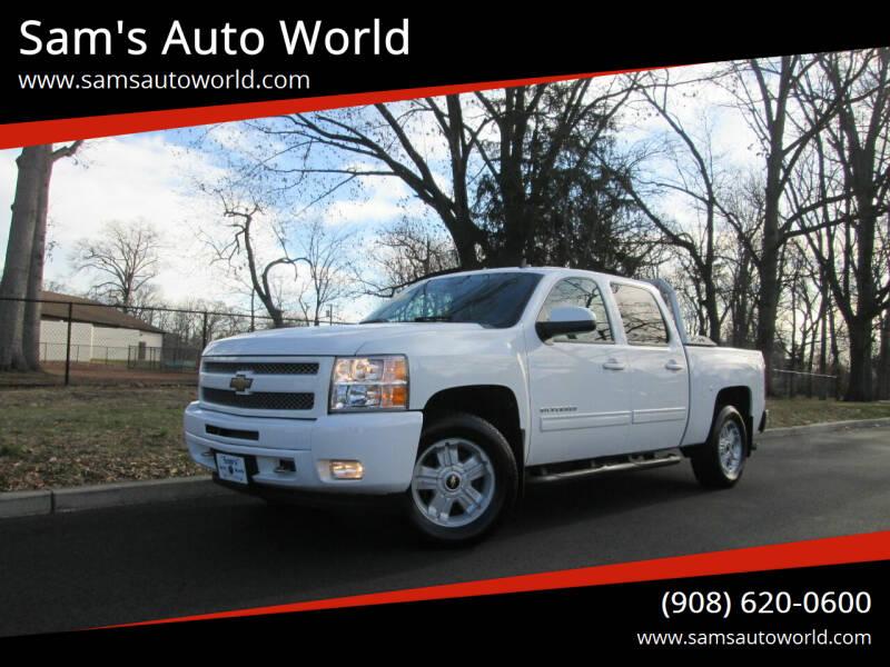 2010 Chevrolet Silverado 1500 for sale at Sam's Auto World in Roselle NJ