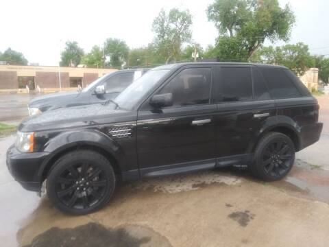 2009 Land Rover Range Rover Sport for sale at PYRAMID MOTORS AUTO SALES in Florence CO
