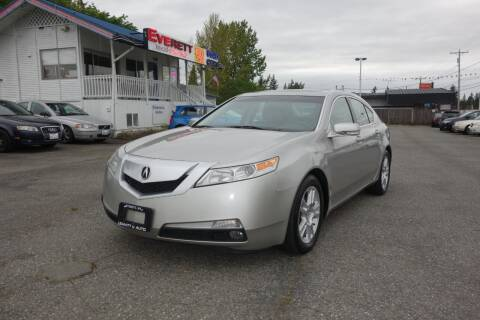 2009 Acura TL for sale at Leavitt Auto Sales and Used Car City in Everett WA