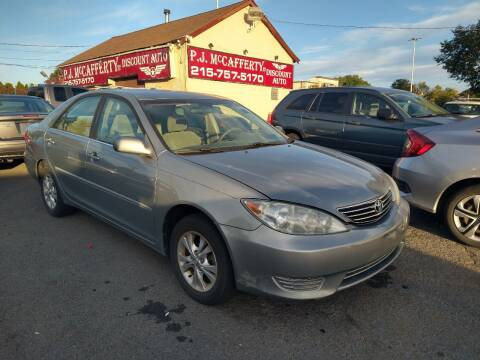 2005 Toyota Camry for sale at P J McCafferty Inc in Langhorne PA