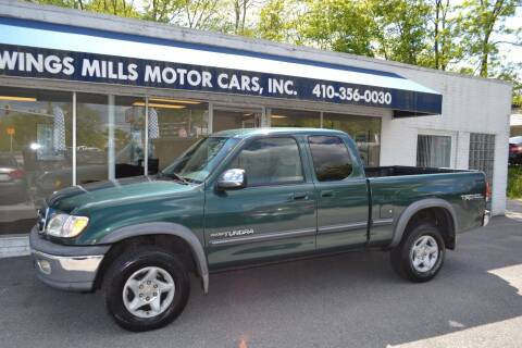 2000 Toyota Tundra for sale at Owings Mills Motor Cars in Owings Mills MD