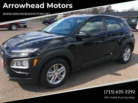 2019 Hyundai Kona for sale at Arrowhead Motors in Spooner WI