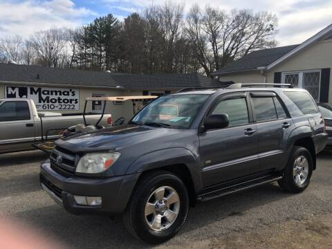 2004 Toyota 4Runner for sale at Mama's Motors in Greer SC