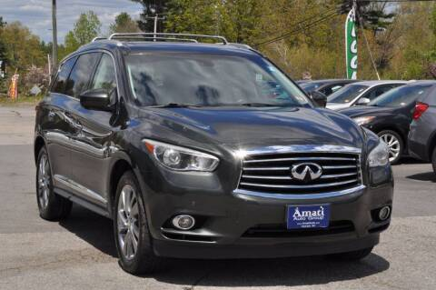 2013 Infiniti JX35 for sale at Amati Auto Group in Hooksett NH