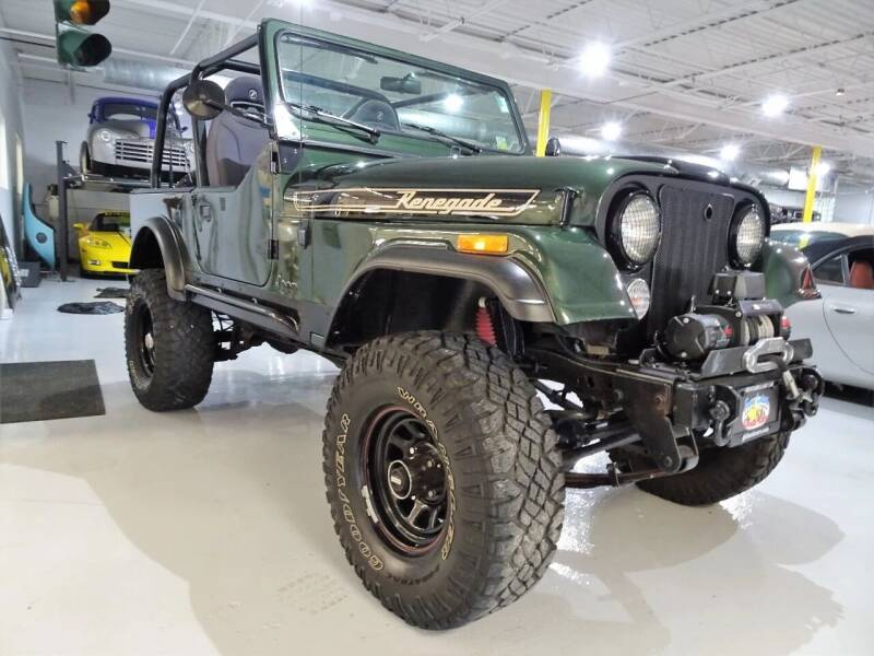 1986 Jeep CJ-7 for sale at Great Lakes Classic Cars & Detail Shop in Hilton NY