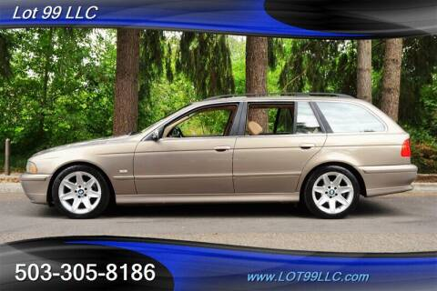 2003 BMW 5 Series for sale at LOT 99 LLC in Milwaukie OR