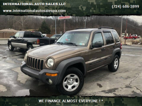 2002 Jeep Liberty for sale at INTERNATIONAL AUTO SALES LLC in Latrobe PA