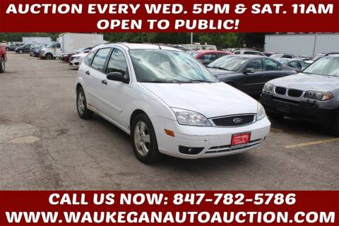 2007 Ford Focus for sale at Waukegan Auto Auction in Waukegan IL