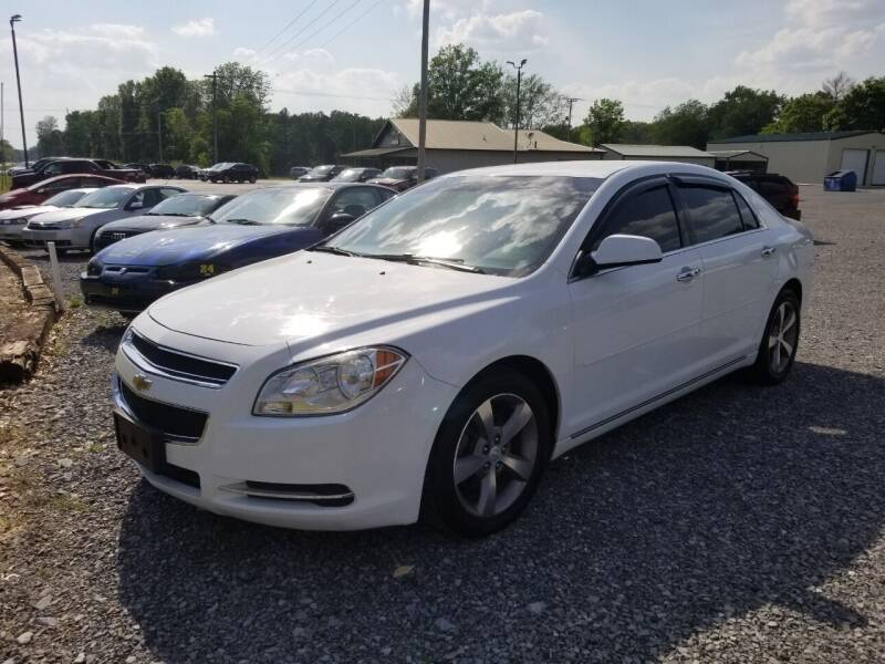 2012 Chevrolet Malibu for sale at Ridgeway's Auto Sales - Buy Here Pay Here in West Frankfort IL