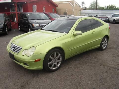 2004 Mercedes-Benz C-Class for sale at Van Buren Motors in Phoenix AZ