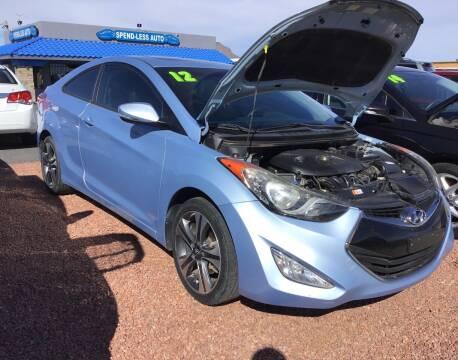 2013 Hyundai Elantra Coupe for sale at SPEND-LESS AUTO in Kingman AZ