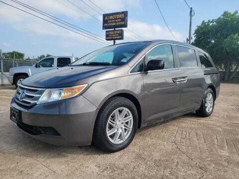 2011 Honda Odyssey for sale at AI MOTORS LLC in Killeen TX