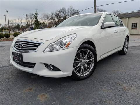 2012 Infiniti G37 Sedan for sale at GAHANNA AUTO SALES in Gahanna OH