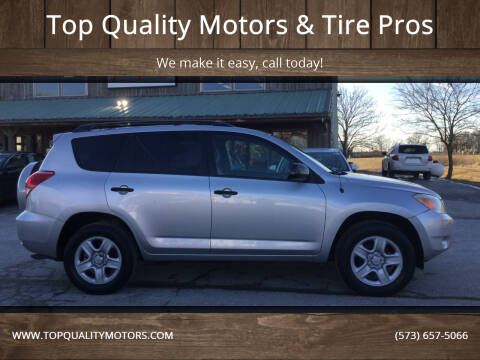 2007 Toyota RAV4 for sale at Top Quality Motors & Tire Pros in Ashland MO
