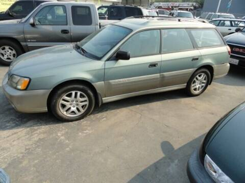 2003 Subaru Outback for sale at Gridley Auto Wholesale in Gridley CA