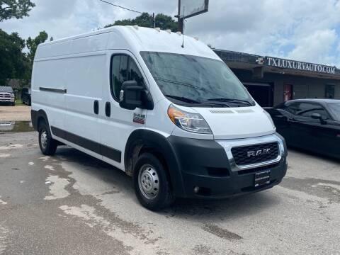 2019 RAM ProMaster Cargo for sale at Texas Luxury Auto in Houston TX