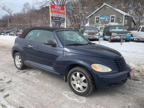 2005 Chrysler PT Cruiser for sale at Korz Auto Farm in Kansas City KS