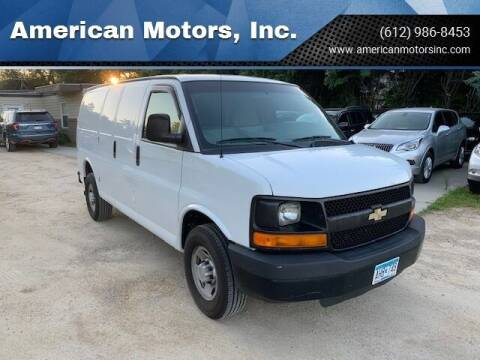 2013 Chevrolet Express Cargo for sale at American Motors, Inc. in Farmington MN