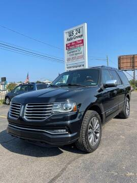 2016 Lincoln Navigator for sale at US 24 Auto Group in Redford MI