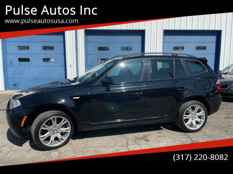 2007 BMW X3 for sale at Pulse Autos Inc in Indianapolis IN